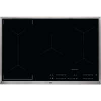 AEG IKE85441XB Black Built-in Zone induction hob