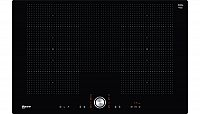 Neff TPT6860X Black,Stainless steel Built-in Zone induction hob