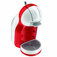 DeLonghi EDG305.WR coffee maker Freestanding Pod coffee machine Red 0.8 L Semi-auto