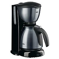 Braun Sommelier KF 610 Freestanding Drip coffee maker Anthracite,Stainless steel 10 cups Manual