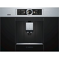 Bosch CTL636ES6 coffee maker Built-in Espresso machine Black,Stainless steel 2.4 L Fully-auto